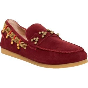 House of Harlow 1960 Shayla Beaded Moccasin